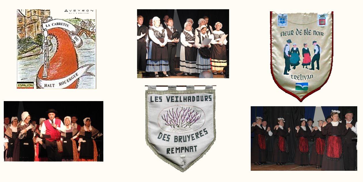 Fanions et photos 3 groupes 2